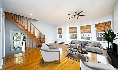 Living Room, 240 Harrison Ave 2, 0