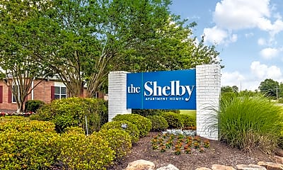 Community Signage, The Shelby Apartment Homes, 2