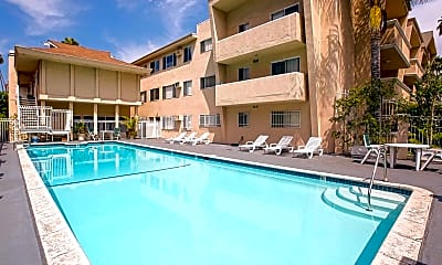 Pool, Wilshire Alexandria Westgate Towers, 0