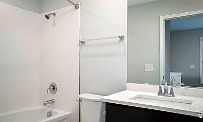 Bathroom, 46 Roger Chaffee Drive Apartments, 2