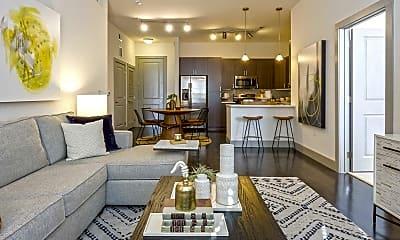 Living Room, Creekside at Crabtree, 1