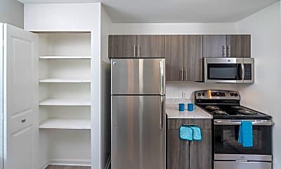 Kitchen, Monticello Apartments, 1