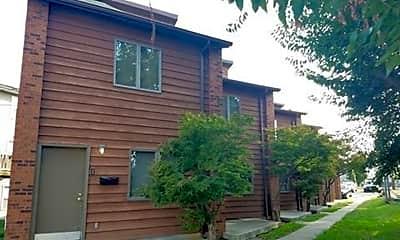 Building, 509 S Poplar St, 1