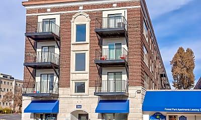 Building, Forest Park Apartments, 0