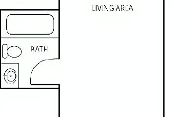 Bathroom, 409 SW 12th Ave, 2