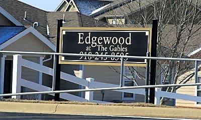 Community Signage, Edgewood at the Gables, 1
