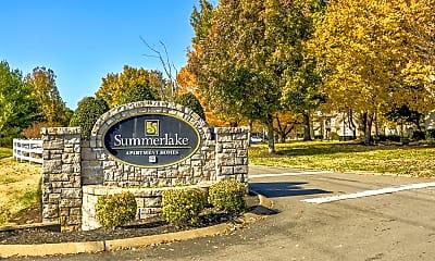 Community Signage, Summer Lake Apartments, 2
