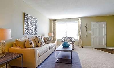 Living Room, Dwell on Riverside, 1