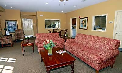 Living Room, Woodbridge Commons, 1