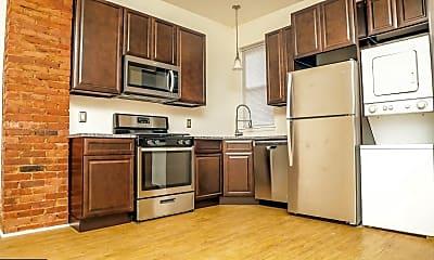 Kitchen, 4049 Powelton Ave AB, 1