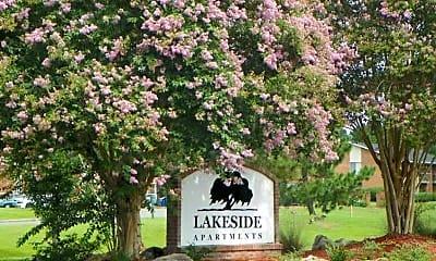 Community Signage, Lakeside Apartments, 1