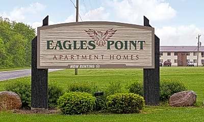 Community Signage, Eagles Point, 2