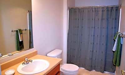 Bathroom, Deer Creek Apartments, 2