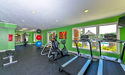Fitness Weight Room, Lakeside at Arbor Place, 1