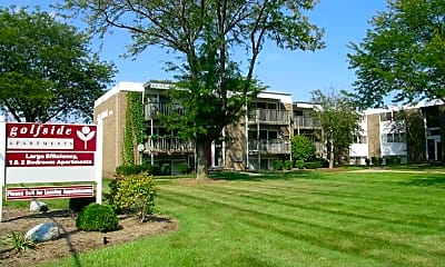 Community Signage, Golfside Apartments, 1