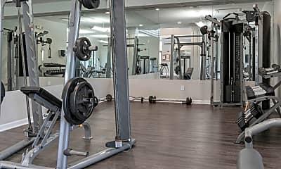 Fitness Weight Room, The Laurels At Jacaranda, 2