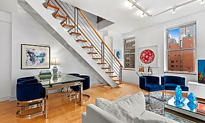 Living Room, 55 Liberty St 19/20, 1