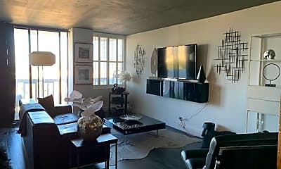Living Room, 400 E Colonial Dr 1203, 1
