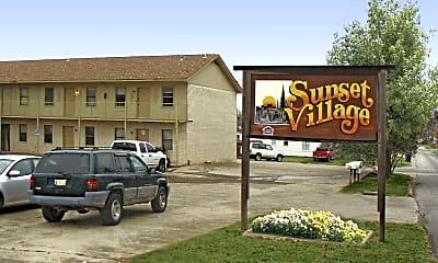 Building, Sunset Village Apartments, 0