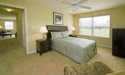 Bedroom, Village at Blue Hen Apartments, 1