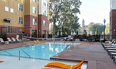 Pool, Campus View Apartments, 1