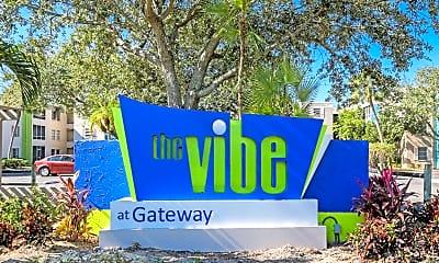 Community Signage, Vibe at Gateway, 2