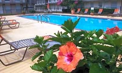 Pool, Century Plaza Apartments, 2
