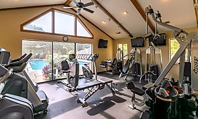 Fitness Weight Room, Silvertree At Little Turtle, 1