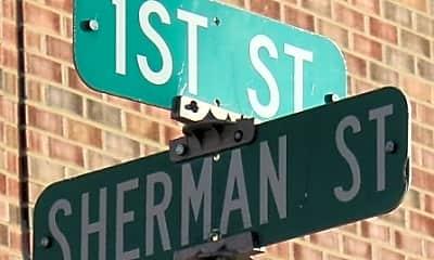 Community Signage, 1101 Sherman St, 2