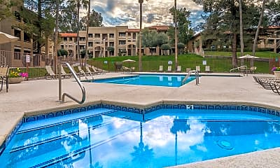 Pool, Foothills Apartments, 1