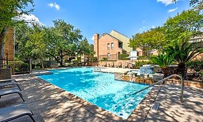 Pool, Park Greene Townhomes, 1