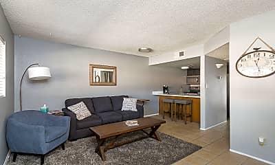 Living Room, 7436 E Chaparral Rd 204B, 0