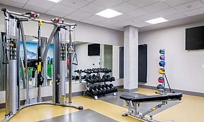 Fitness Weight Room, Fox & Finch, 2