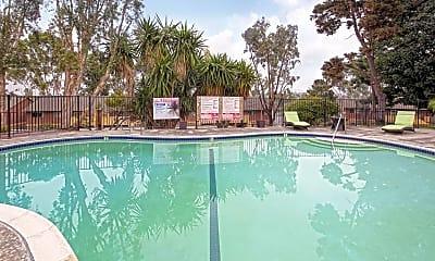 Pool, Las Palmas Apartments, 0