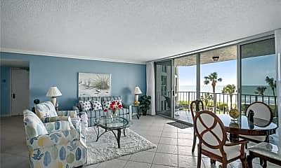 Living Room, 10701 Gulf Shore Dr 302, 0