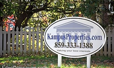 Community Signage, 647 Golfview Dr, 2