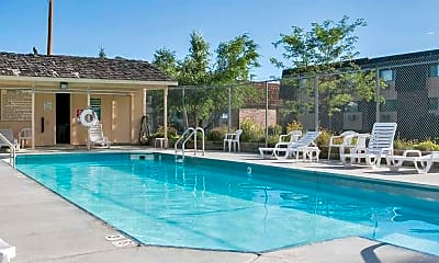 Pool, Foxhill Apartments, 1