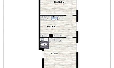 Building, 521 S 500 E, 2