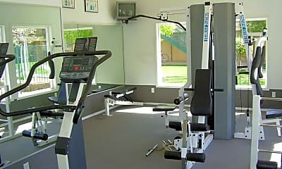 Fitness Weight Room, The Heritage, 2