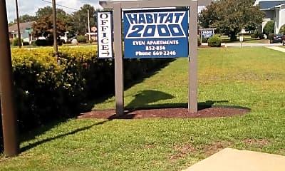 Habitat 2000 Apartments, 1