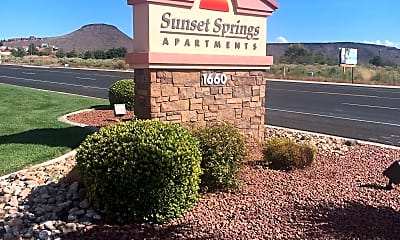 Sunset Springs Apartments, 1