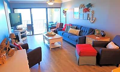 Living Room, 10310 S OCEAN DRIVE UNIT 206, 1