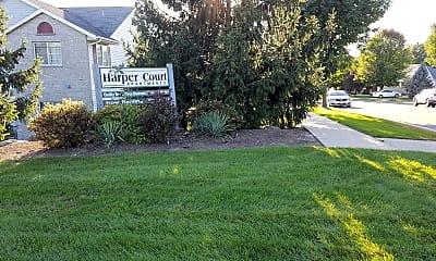 Harper Court Apartments, 1