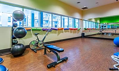 Fitness Weight Room, Gardens at Cherry Creek, 2