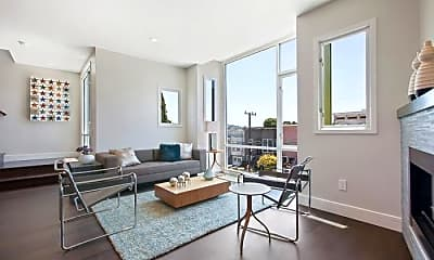 Living Room, 170 Clipper St, 1
