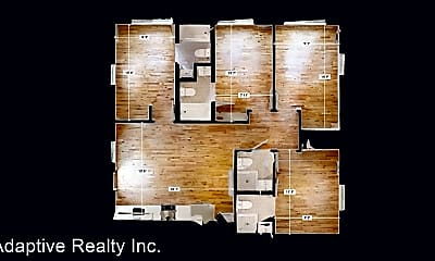 Living Room, 3665 S Grand Ave, 2