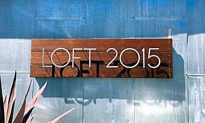 Community Signage, LOFT2015, 1