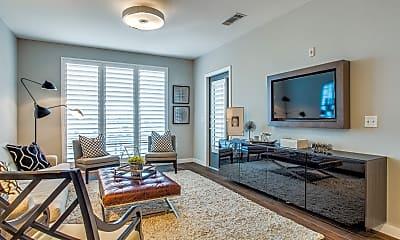 Living Room, 5609 SMU Blvd, Unit 308, 1