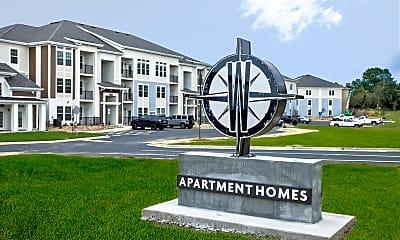 Community Signage, Waterside Apartments, 2