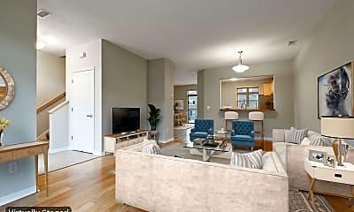 Living Room, 737 Victoria St, 1